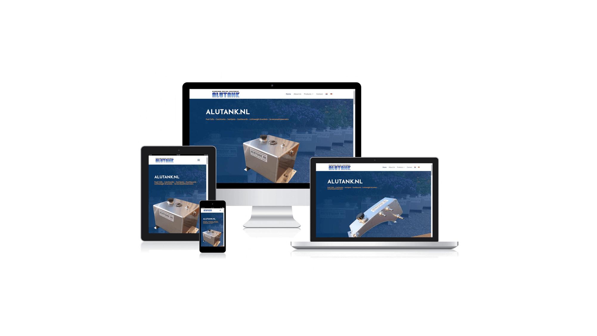alutank nieuwe website
